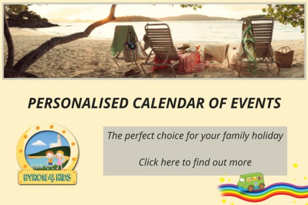 Byron4Kids Personalised Calendar of Events Service