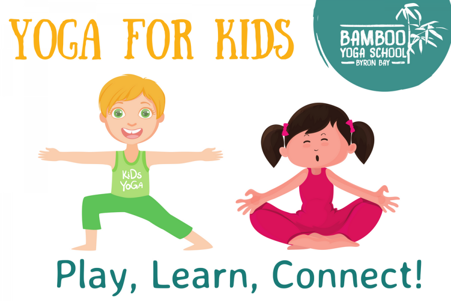 Bamboo Yoga for Kids in Byron Bay