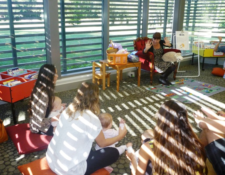 Baby Bounce at Byron Bay Library