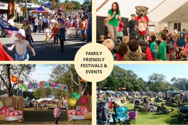 Family Friendly Festivals & Events in Byron and Ballina Shires