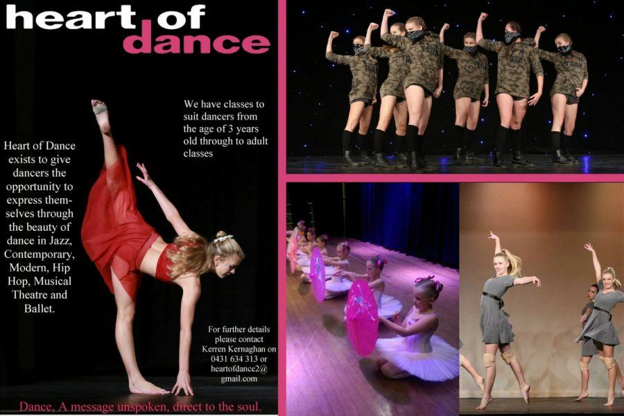 Heart of Dance - Dance School, Lennox Head