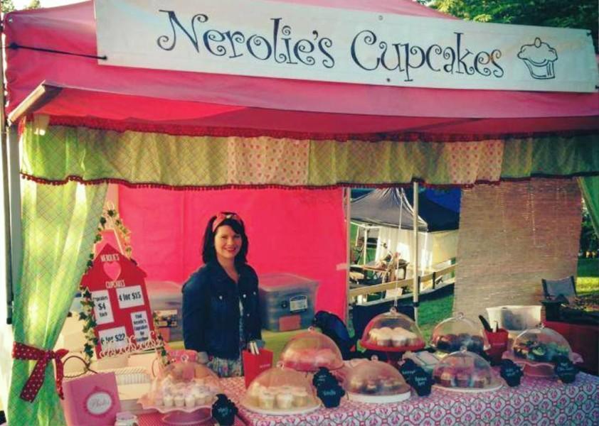 Nerolie's Cupcake Stall at Lennox Head Community Markets