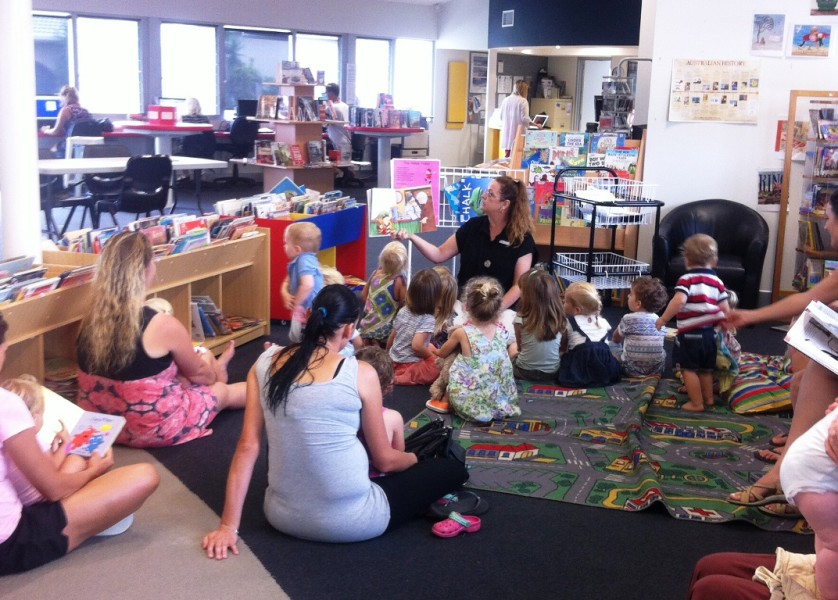 Lennox Head - Story Time at the Library