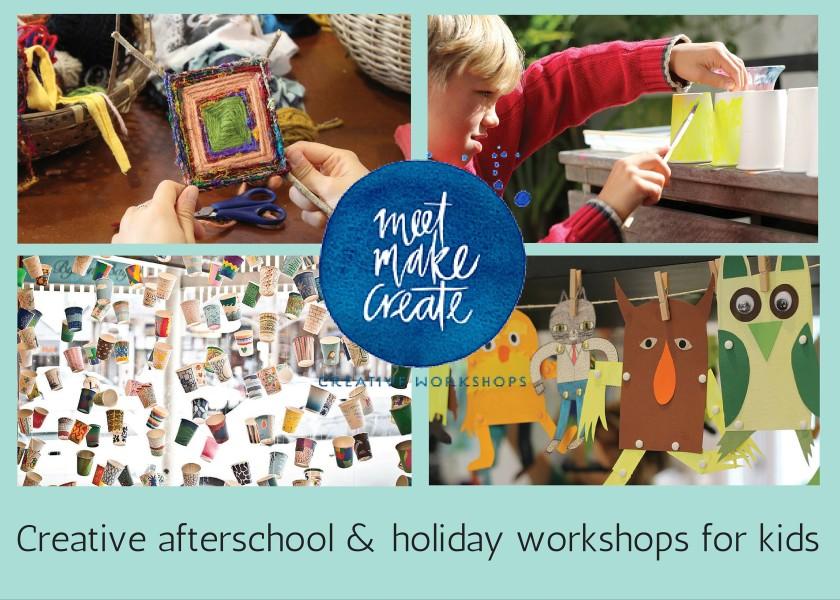 Meet Make Create - Creative Art & Craft After School Classes