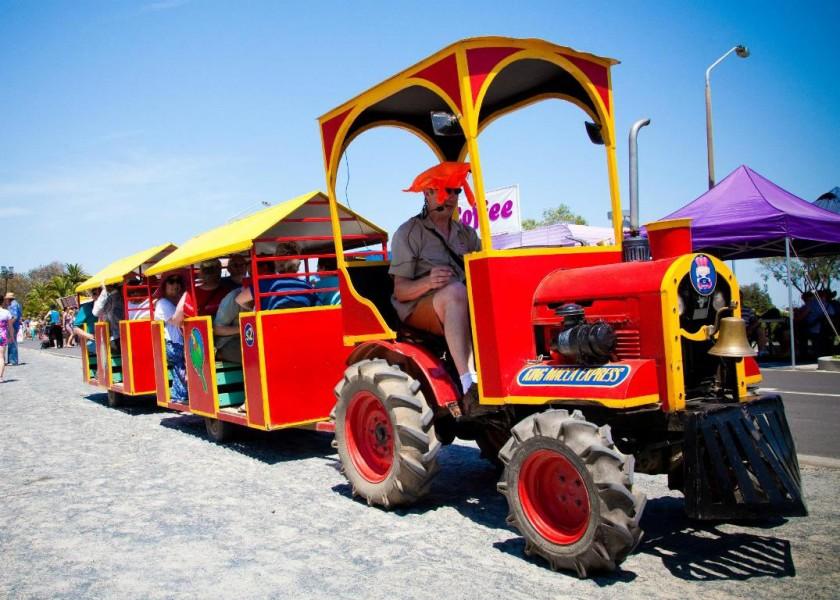 Ballina Prawn Festival - Macadamia Castle Train Rides