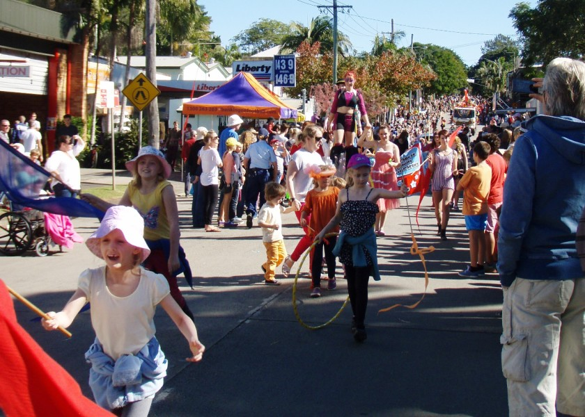 Bangalow Billy Cart Derby - Grand Parade