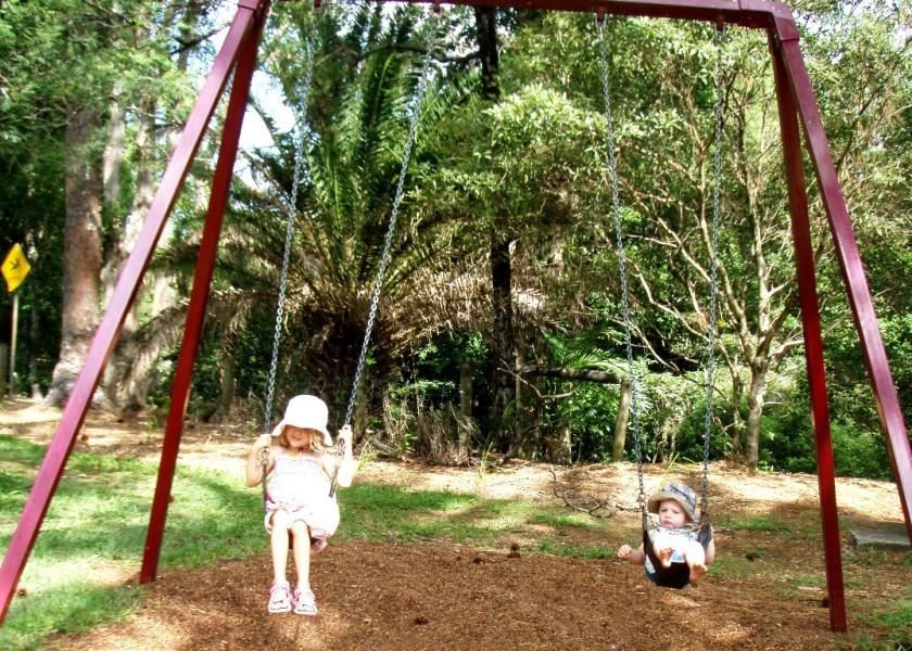 Swings, Reserve Park, Bangalow