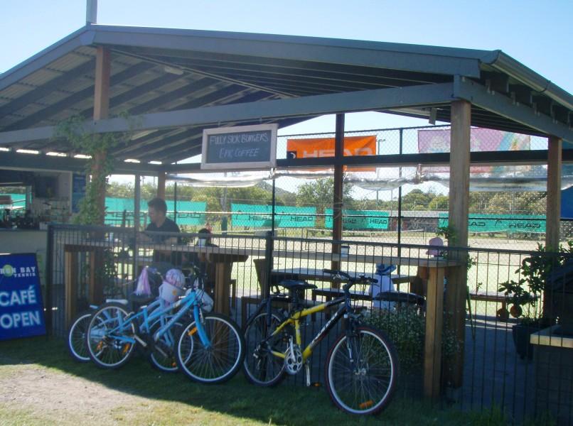Byron Bay Tennis Cafe, Tennyson Street