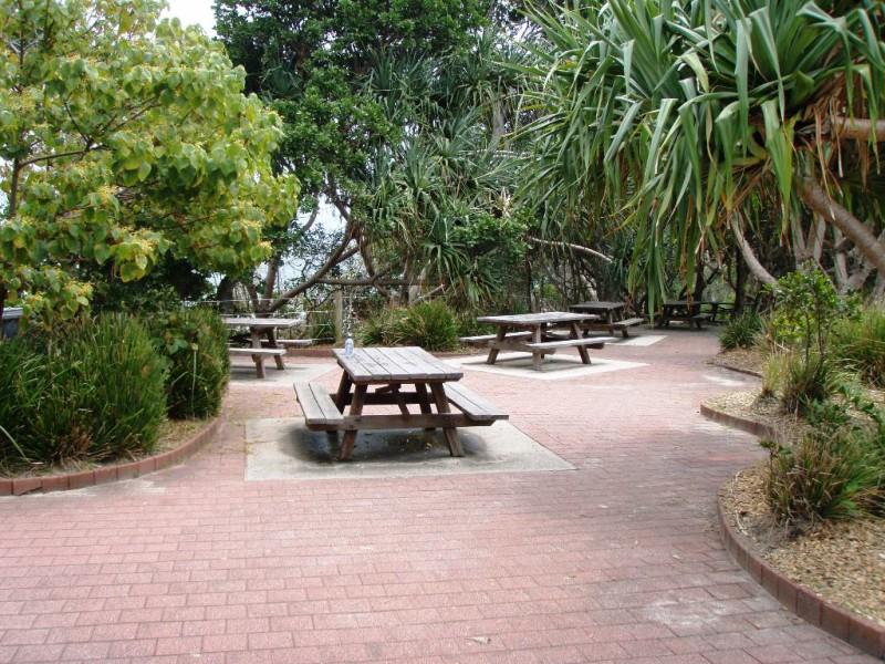 Picnic Tables at The Pass, Byron Bay