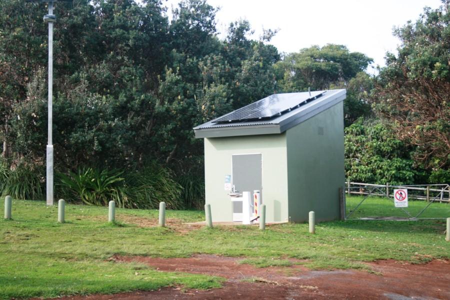 Unisex Public Toilet at Pat Morton Lookout