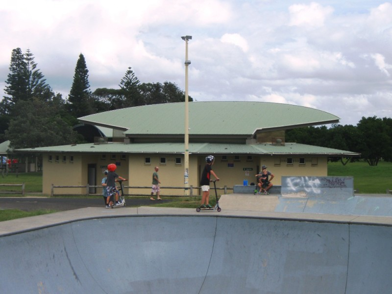 Amenities Block, Ballina Skatepark