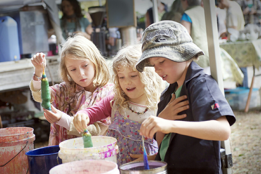 Mullumbimby Farmers Market - Kiddies Plot activities