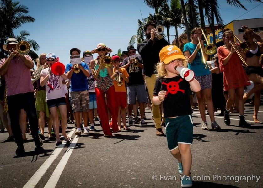 Mullum Music Festival - Street Parade