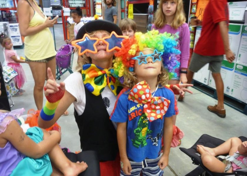 Shorty Brown Clown, Byron Bay