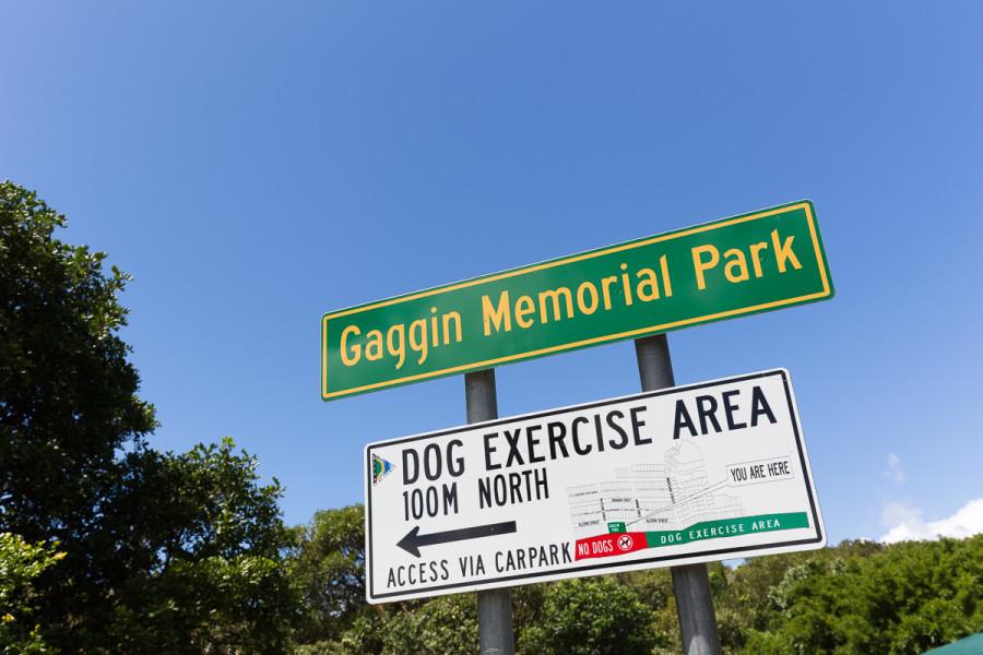 Gaggin Park - Signage