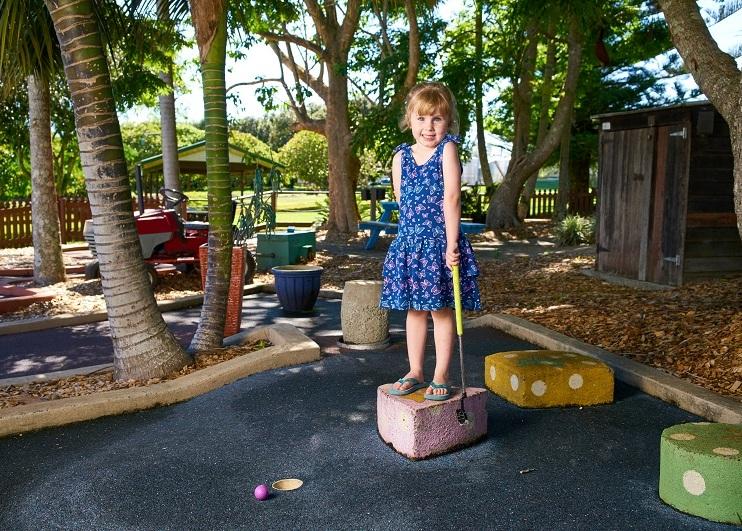 Summerland House Farm - Mini Golf