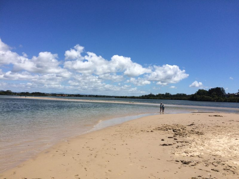 The Serpentine Beach and Public Reserve, Ballina NSW