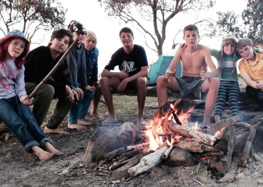 The Uncle Project Byron Bay - Campfire Fun