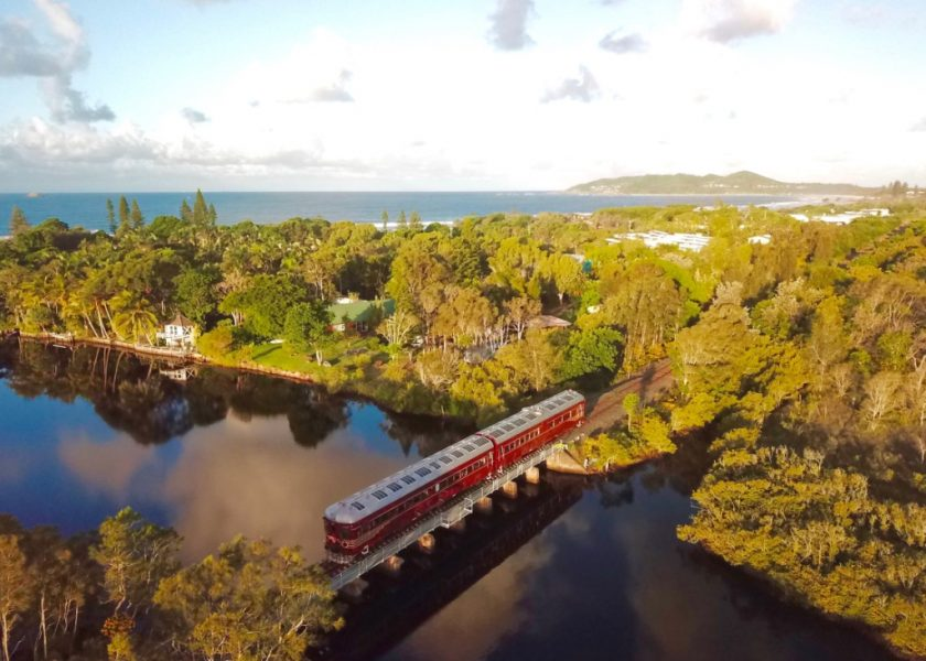 Byron Bay Train - along the 3km coastal track