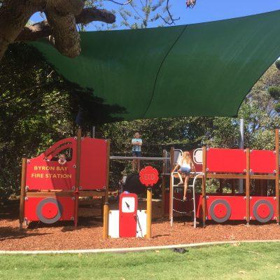 Gaggin Park playground, Suffolk Park