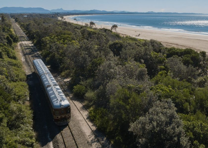 Byron Bay Train - solar renewal in Byron Bay