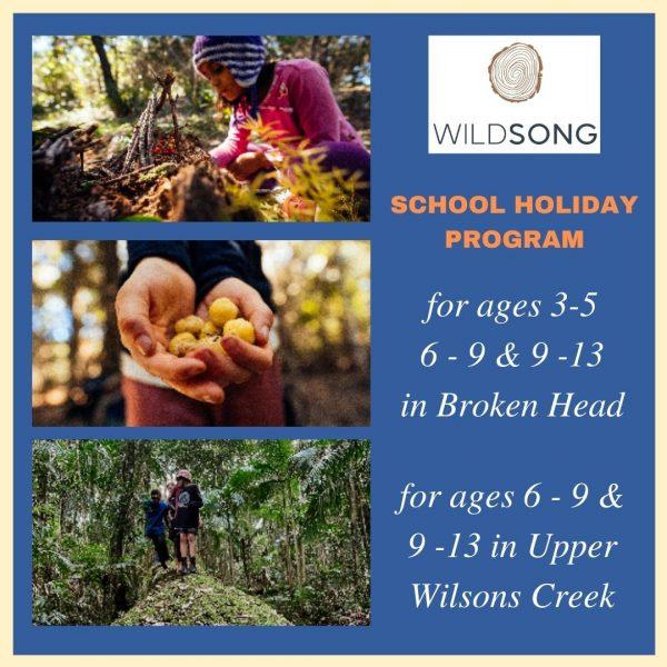 Wild Kids School Holiday Program Winter 2021