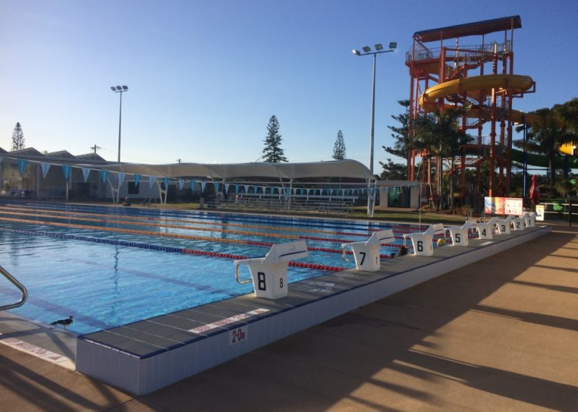 Ballina Pool and Waterslide - Olympic 50m outdoor pool