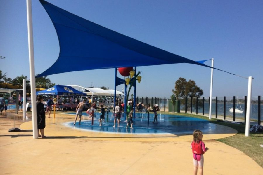 Ballina Pool and Waterslide - Water Splash Area