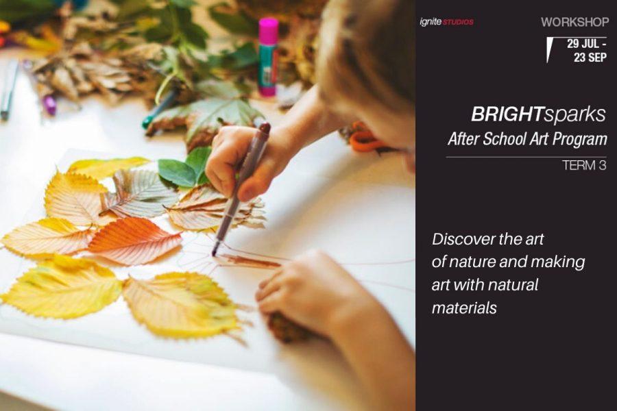 Bright Sparks After School Art Program - Term 3 2020