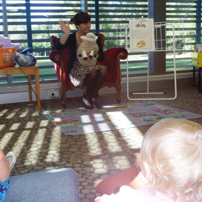 Baby Bounce at Byron Bay Library