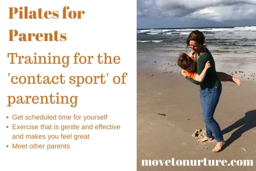 Pilates for Parents in Byron Bay - Thursdays at 2pm