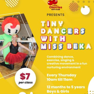 Tiny Dancers at Cherry St Sports, Ballina