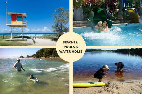 Beaches Pools and Waterholes in Byron and Ballina Shires