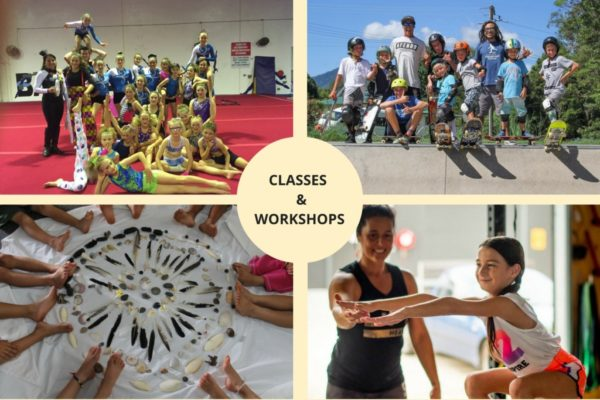 Kids Classes and Workshops in Byron and Ballina Shires