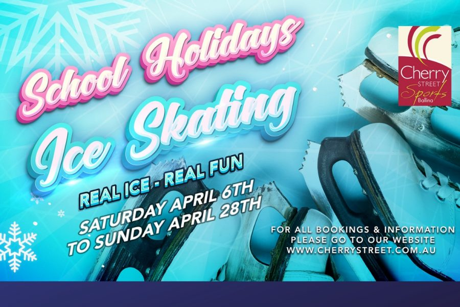 April 2019 School Holiday Ice Skating Fun at Cherry Street Sports