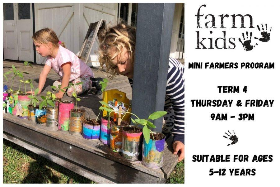 Farm Kids Mini Farmers Term Time Program Term 4 2020