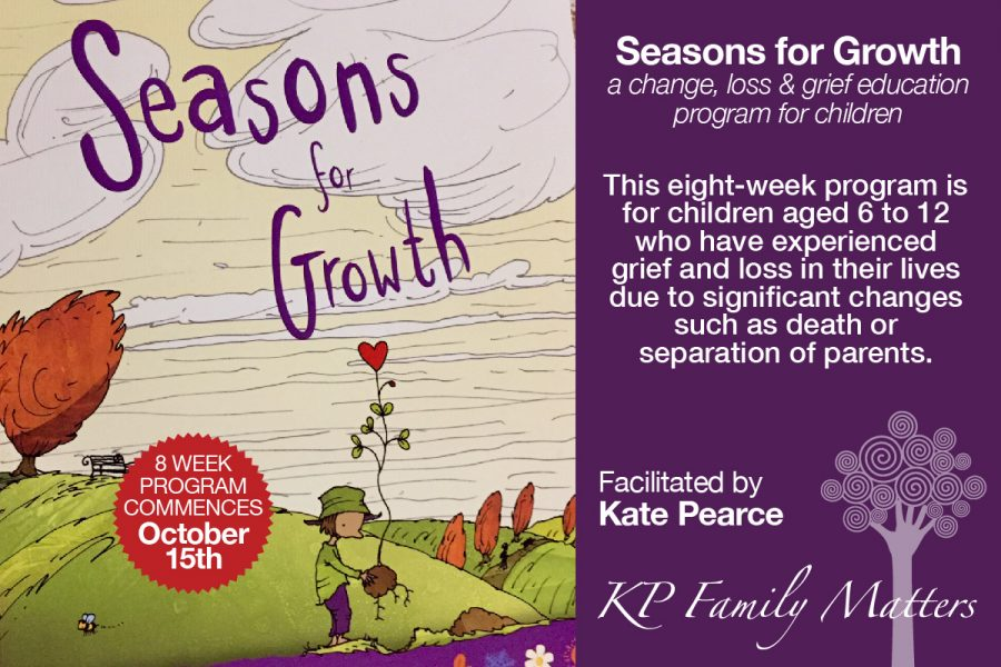 Seasons For Growth - Grief & Loss Education Program for Children