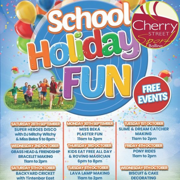 Cherry Street Sports School Holiday Fun