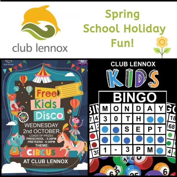 Club Lennox School Holiday Fun