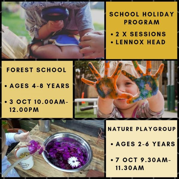 Big Scrub Nature Play School Holiday Program