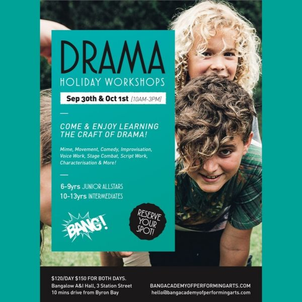 BANG Academy Of Performing Arts - Drama Workshops