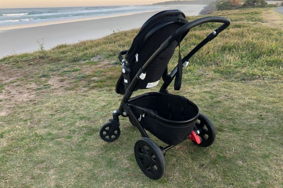 Baby HQ, Byron Bay - Stroller on the beach front
