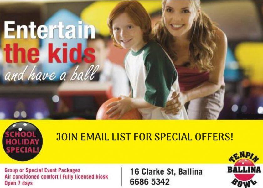 Ballina Tenpin Bowl - School Holiday