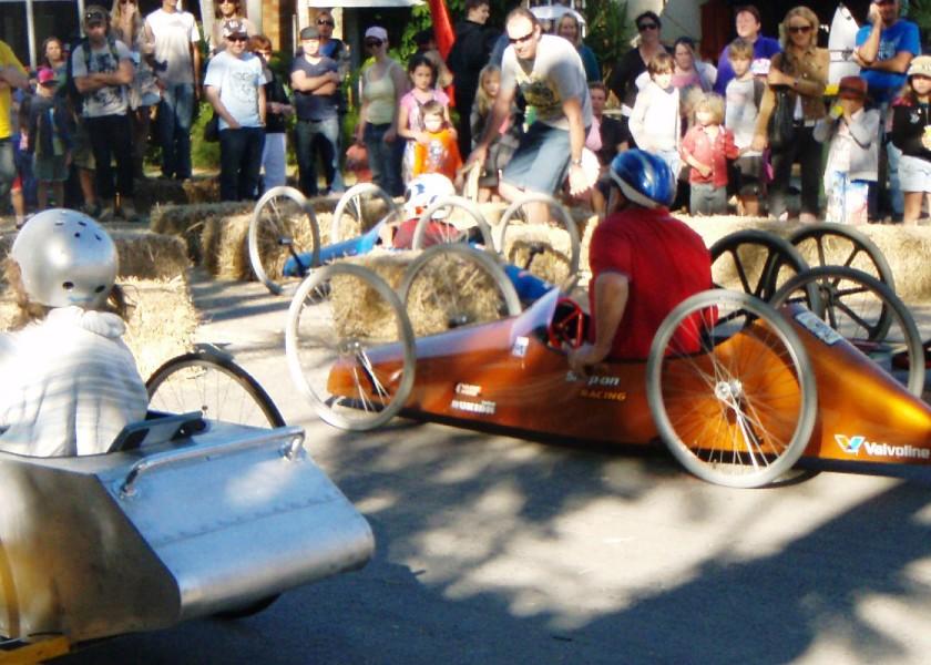 Bangalow Billy Cart Derby - Juniors & Seniors Racing!