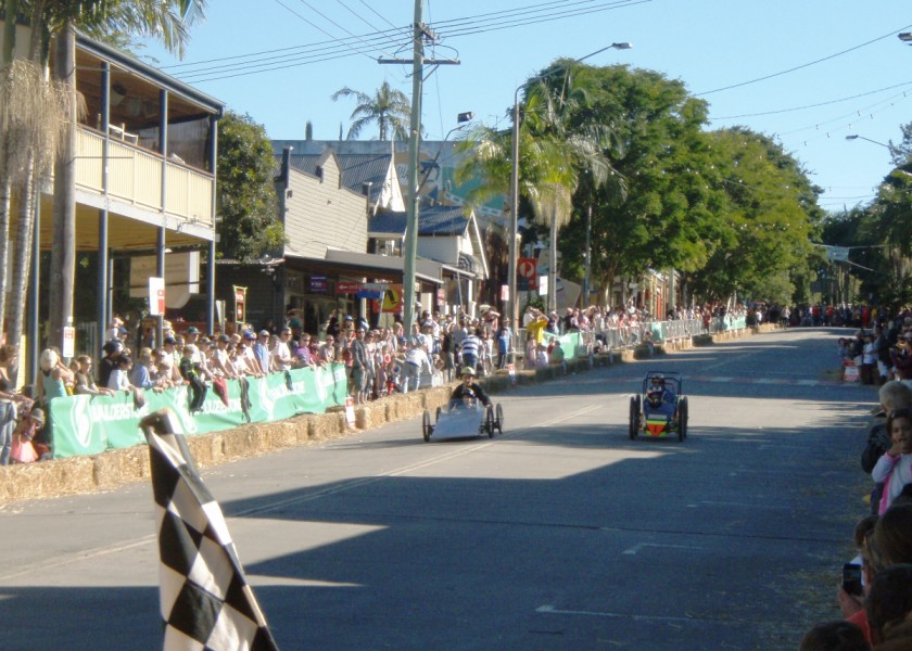 Bangalow Billy Cart Derby - Parent & Child Race