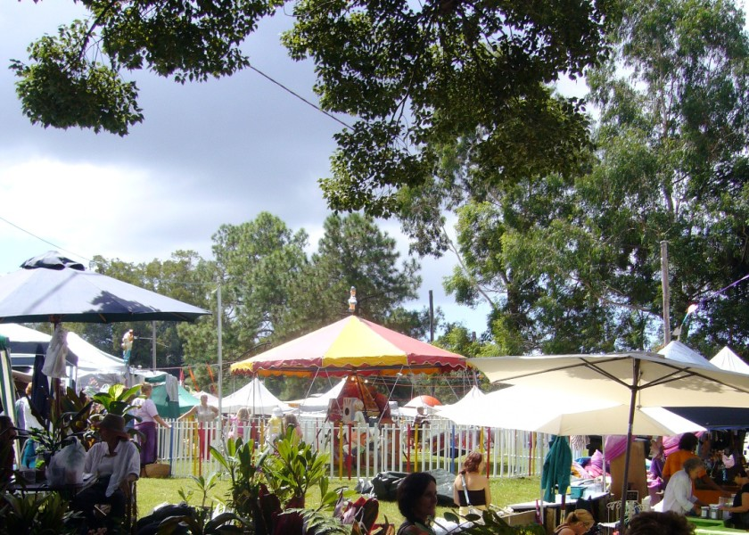 Bangalow Monthly Community Market