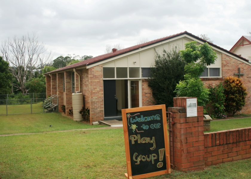 Bangalow Playgroup - Entrance