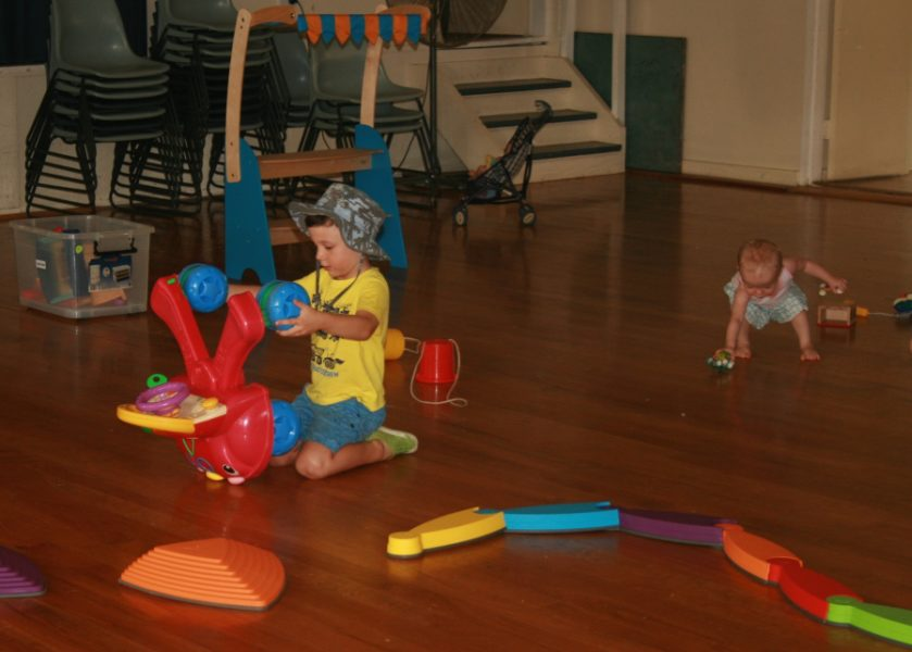 Bangalow Playgroup - inside play area