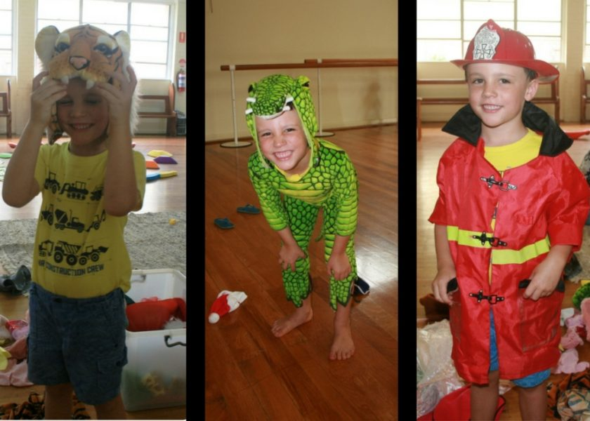 Bangalow Playgroup - dress-up fun!