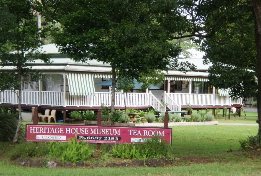 Heritage House Tearooms, Bangalow Reserve